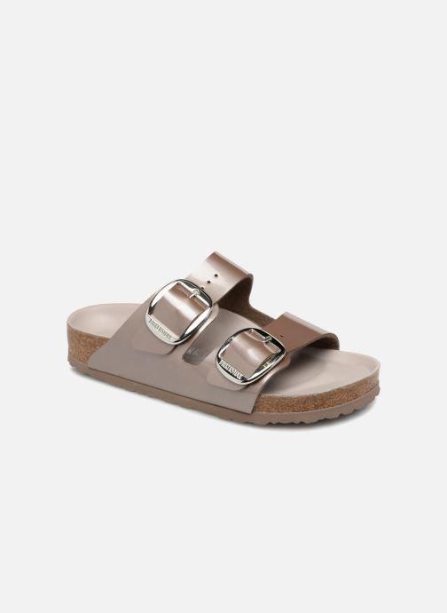 Sandales et nu-pieds Birkenstock Arizona Big Buckle Gris vue détail/paire