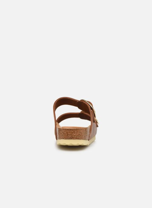 Zuecos Birkenstock Arizona Big Buckle Cuir W Marrón vista lateral derecha
