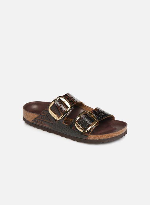 Clogs & Pantoletten Birkenstock Arizona Big Buckle Cuir W braun detaillierte ansicht/modell