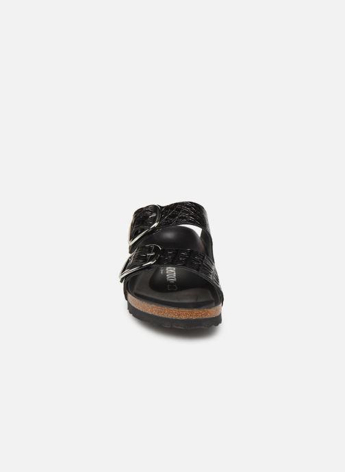 Sandales et nu-pieds Birkenstock Arizona Big Buckle Noir vue portées chaussures