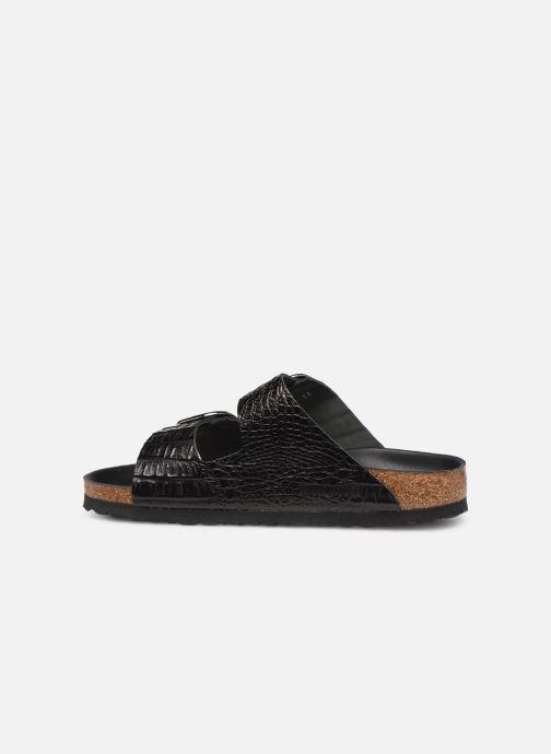 Sandales et nu-pieds Birkenstock Arizona Big Buckle Noir vue face