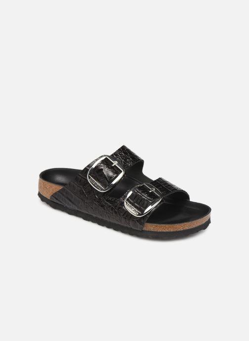 Sandaler Birkenstock Arizona Big Buckle Sort detaljeret billede af skoene