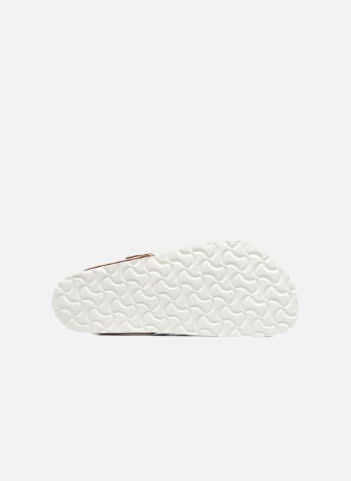 Sandalias Birkenstock Gizeh Cuir Soft Footbed W Oro y bronce vista de arriba