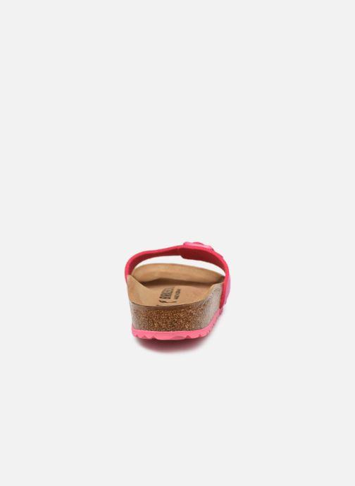 Clogs & Pantoletten Birkenstock Madrid Microfibre W rosa ansicht von rechts