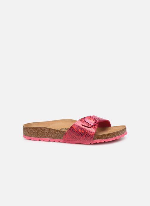 Clogs & Pantoletten Birkenstock Madrid Microfibre W rosa ansicht von hinten