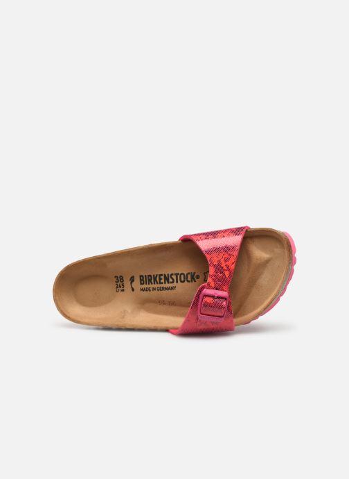 Clogs & Pantoletten Birkenstock Madrid Microfibre W rosa ansicht von links
