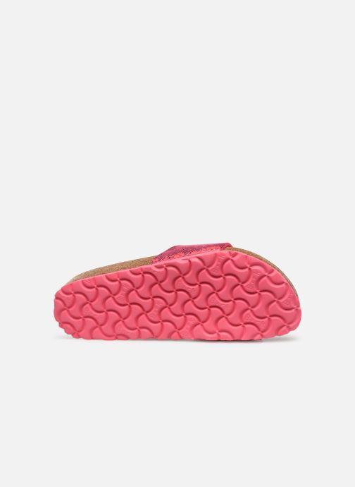 Clogs & Pantoletten Birkenstock Madrid Microfibre W rosa ansicht von oben