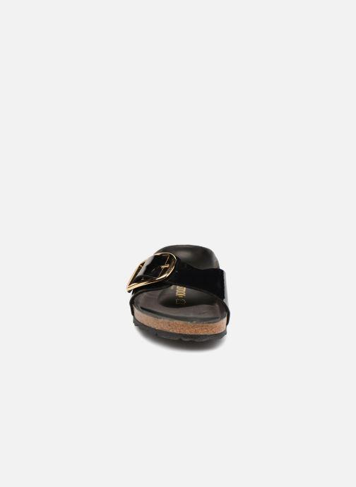 Mules et sabots Birkenstock Madrid Big Buckle Noir vue portées chaussures