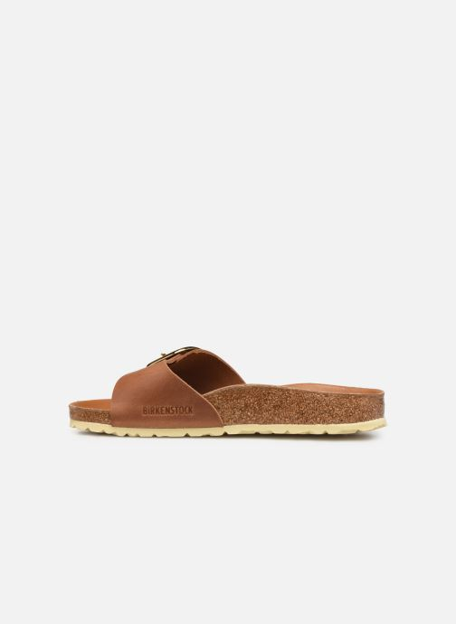 Wedges Birkenstock Madrid Big Buckle Cuir Women Bruin voorkant