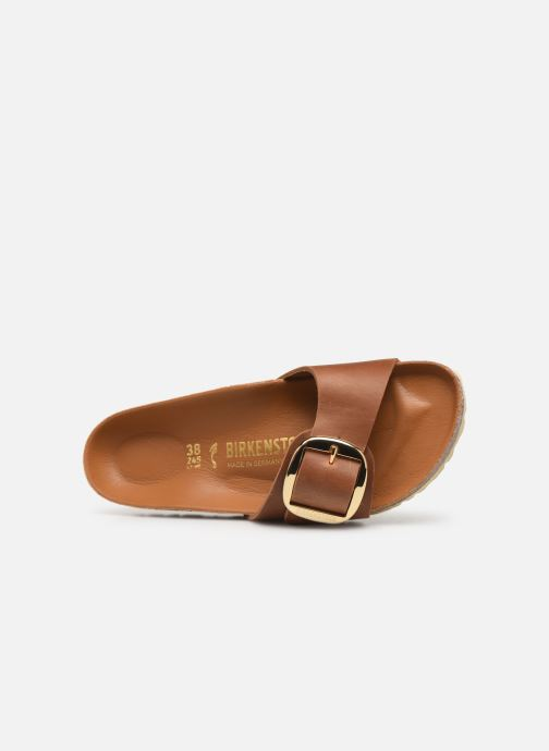 Mules et sabots Birkenstock Madrid Big Buckle Cuir Women Marron vue gauche