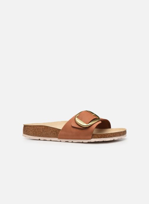 Zuecos Birkenstock Madrid Big Buckle Cuir Women Marrón vistra trasera