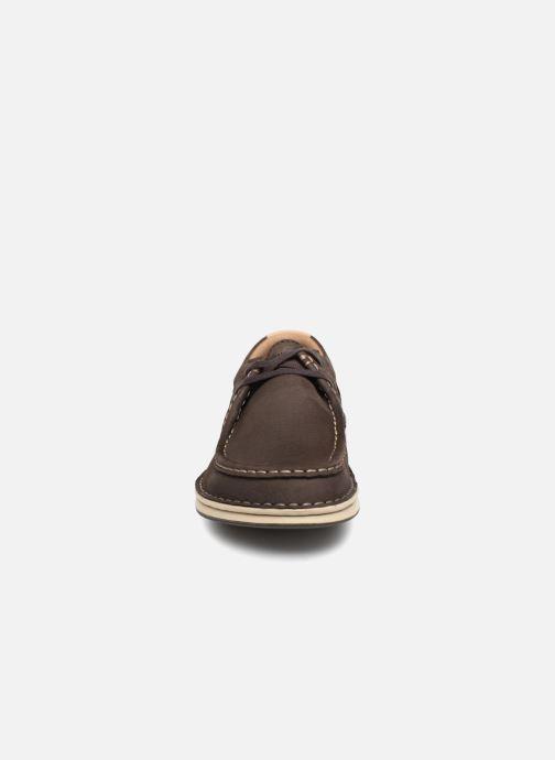 Chaussures à lacets Birkenstock Pasadena Marron vue portées chaussures