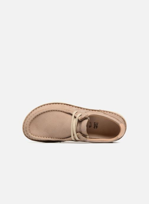 Zapatos con cordones Birkenstock Pasadena Marrón vista lateral izquierda
