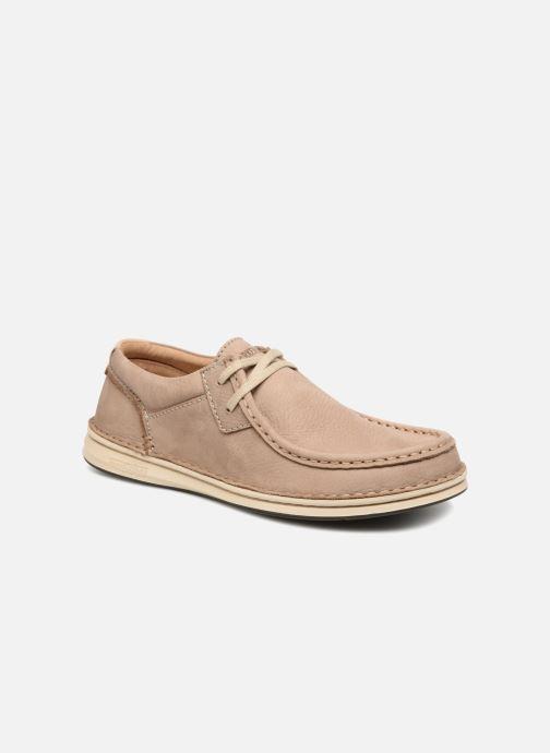 Snøresko Birkenstock Pasadena Brun detaljeret billede af skoene