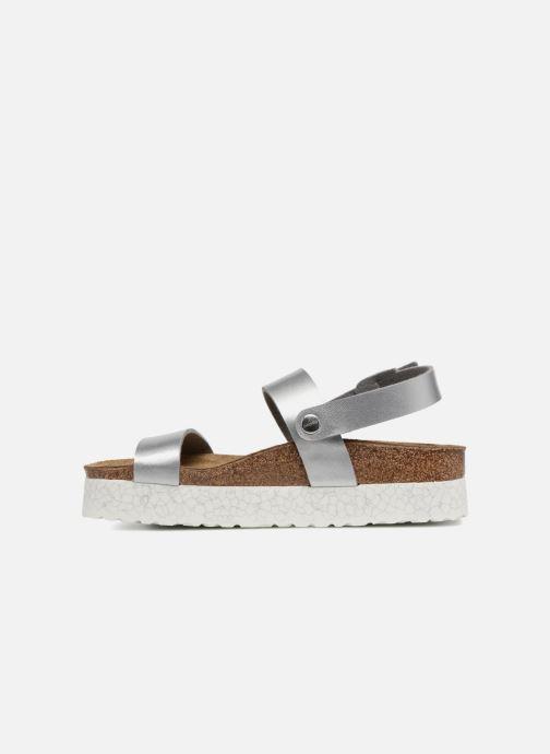 Sandales et nu-pieds Papillio Cameron Argent vue face
