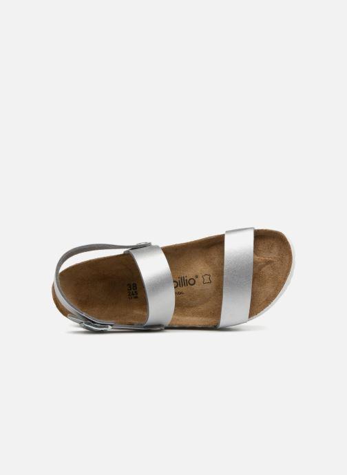 Sandales et nu-pieds Papillio Cameron Argent vue gauche