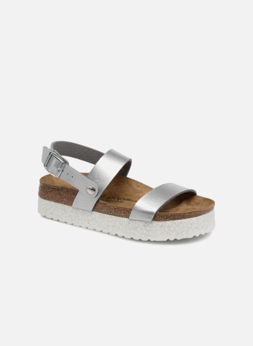 Sandales et nu-pieds Papillio Cameron Argent vue détail/paire