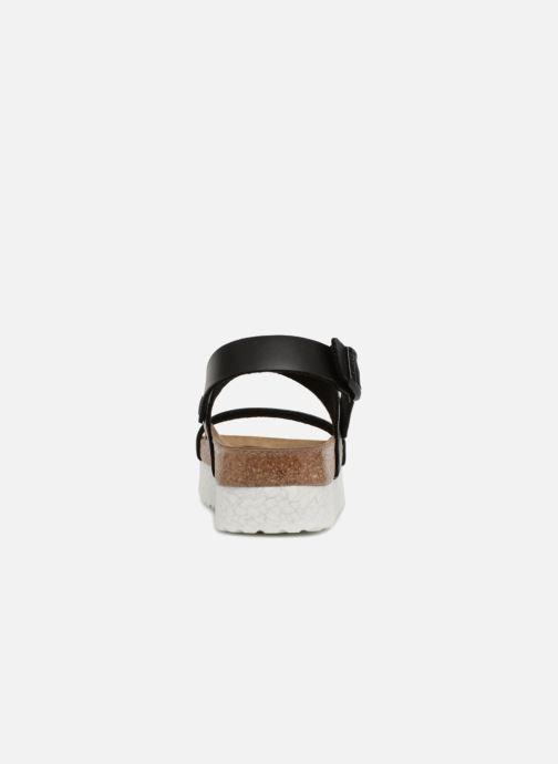 Sandales et nu-pieds Papillio Cameron Noir vue droite