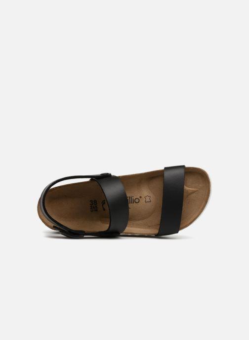Sandales et nu-pieds Papillio Cameron Noir vue gauche