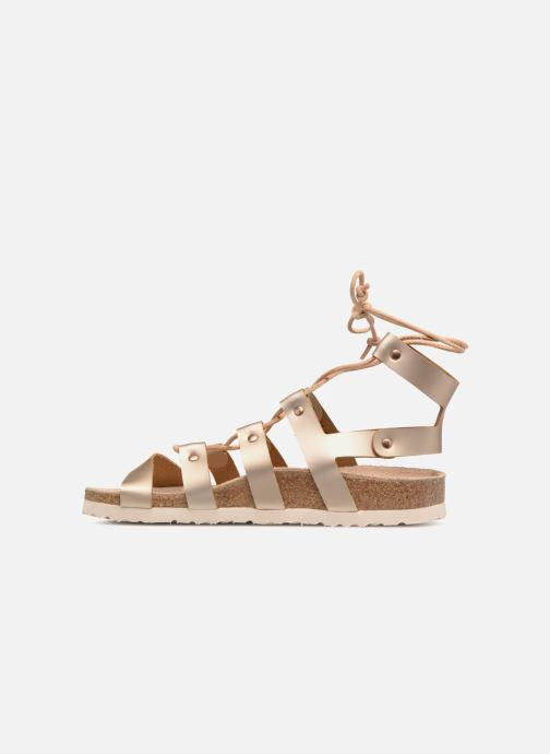 Sandals Papillio Cleo Bronze and Gold front view