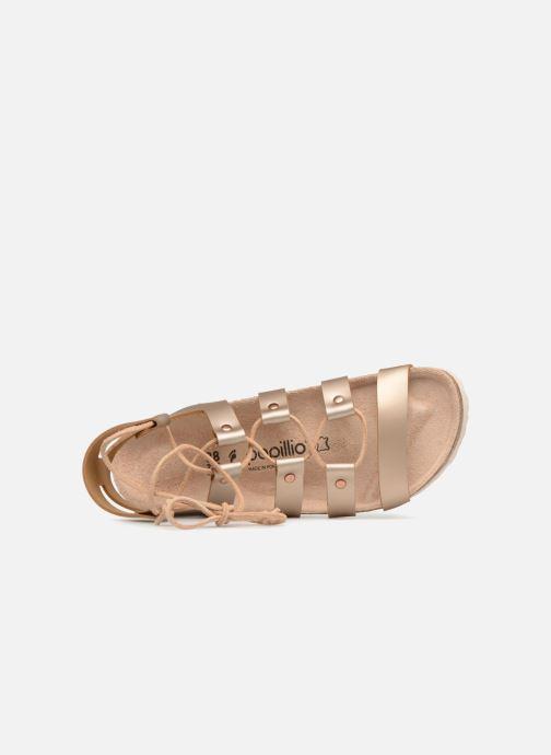 Sandales et nu-pieds Papillio Cleo Or et bronze vue gauche