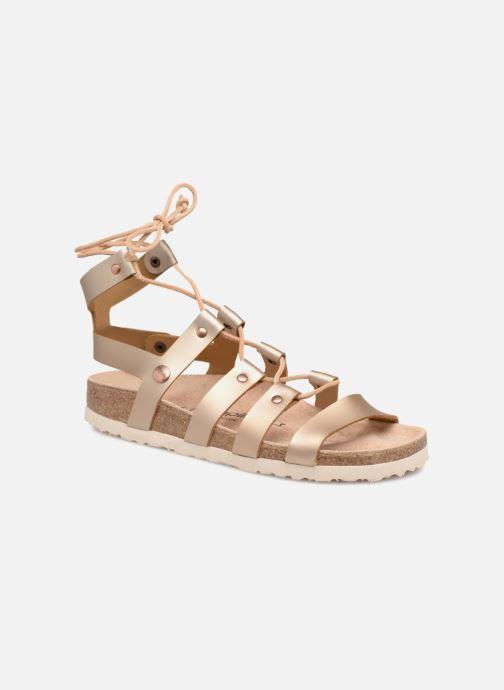 Sandales et nu-pieds Papillio Cleo Or et bronze vue détail/paire
