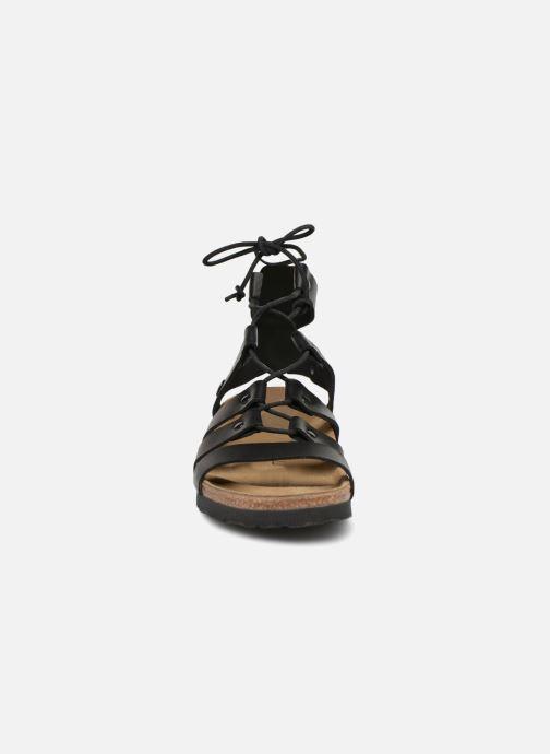 Sandales et nu-pieds Papillio Cleo Noir vue portées chaussures