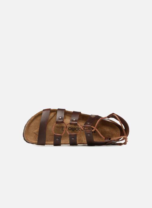 Sandales et nu-pieds Papillio Cleo Marron vue gauche
