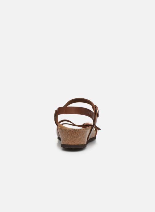 Sandales et nu-pieds Papillio Lana CuirNaturel Marron vue droite