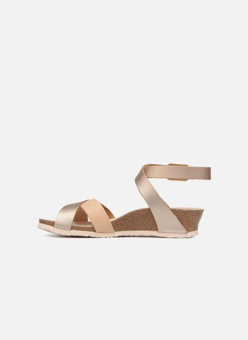 Sandales et nu-pieds Papillio Lola CuirNaturel Beige vue face