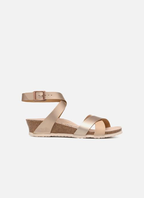Sandales et nu-pieds Papillio Lola CuirNaturel Beige vue derrière