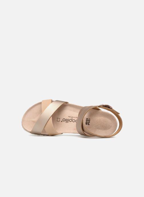 Sandales et nu-pieds Papillio Lola CuirNaturel Beige vue gauche