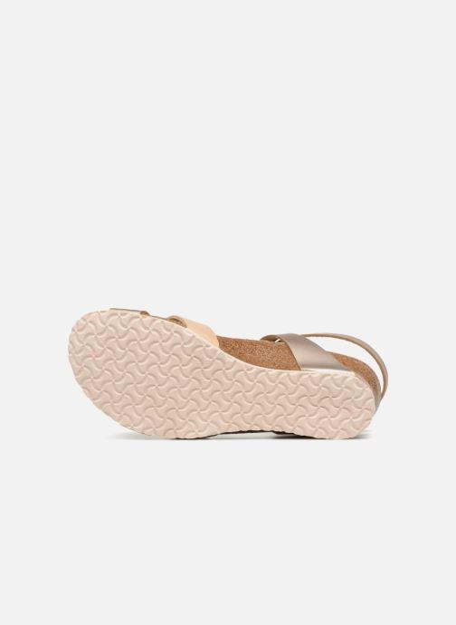Sandales et nu-pieds Papillio Lola CuirNaturel Beige vue haut