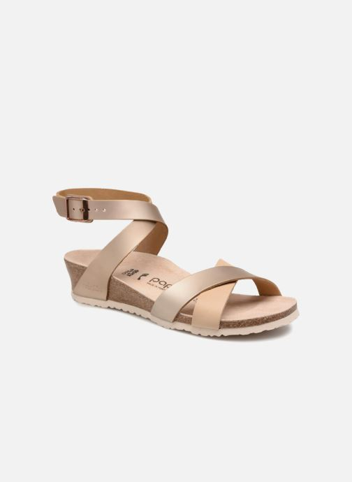 Sandales et nu-pieds Papillio Lola CuirNaturel Beige vue détail/paire
