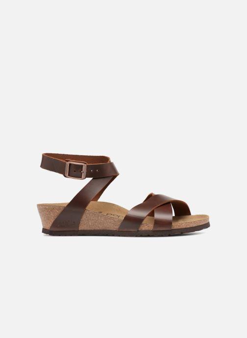 Sandalen Papillio Lola CuirNaturel braun ansicht von hinten