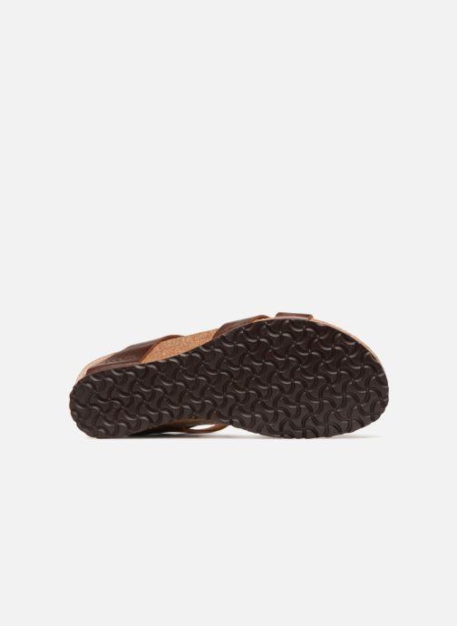 Sandales et nu-pieds Papillio Lola CuirNaturel Marron vue haut