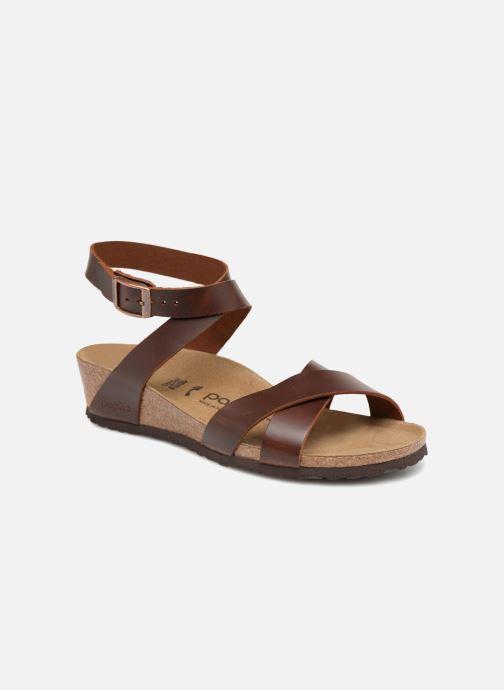 Sandales et nu-pieds Papillio Lola CuirNaturel Marron vue détail/paire