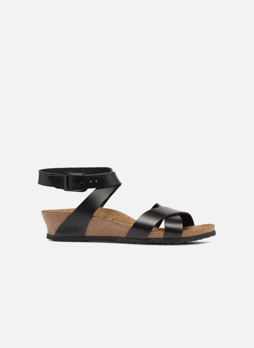Sandales et nu-pieds Papillio Lola CuirNaturel Noir vue derrière