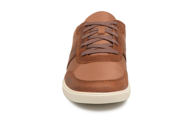 Baskets Timberland Fulk Mixed Ox Marron vue portées chaussures