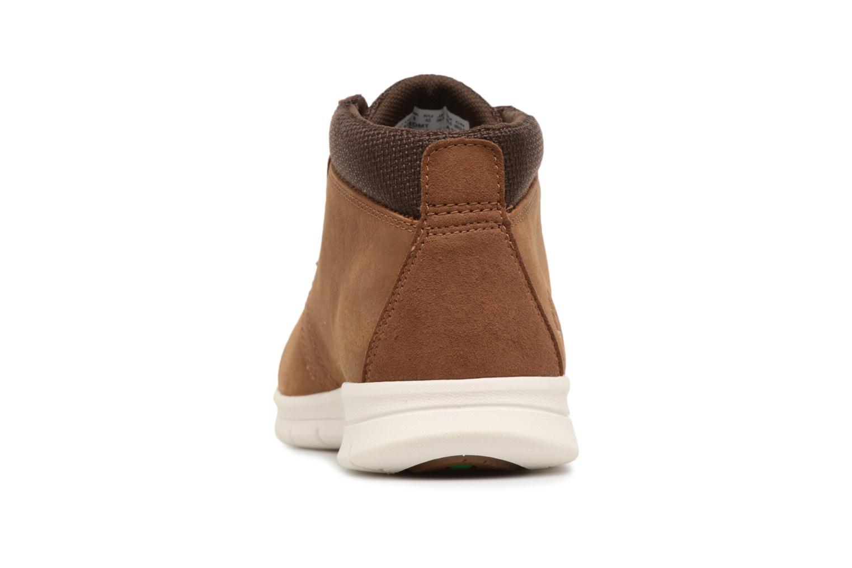 Bottines et boots Timberland Graydon Leather Mid WR Marron vue droite