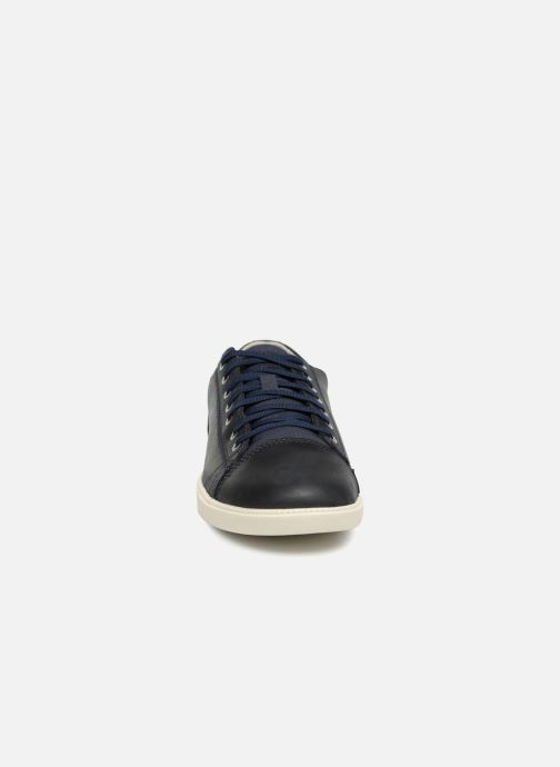 Baskets Timberland Fulk Cap Toe Ox Noir vue portées chaussures