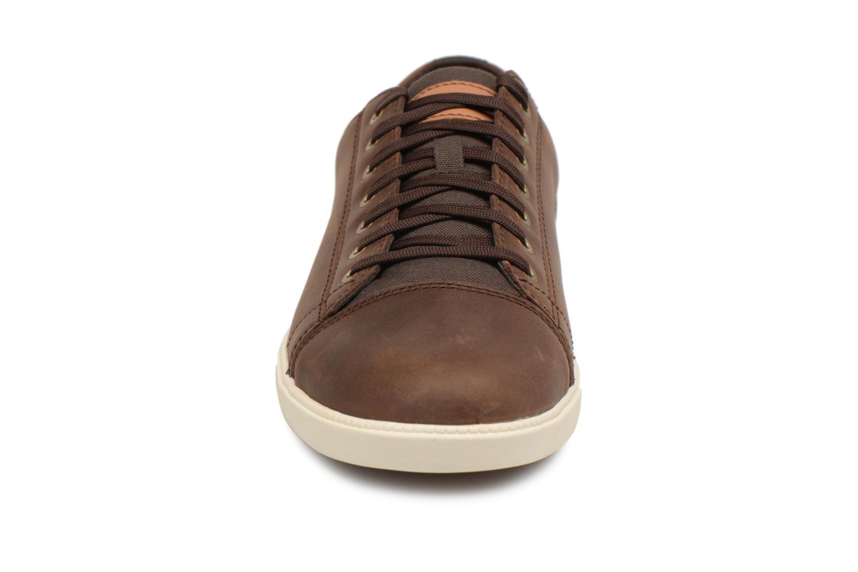 Baskets Timberland Fulk Cap Toe Ox Marron vue portées chaussures