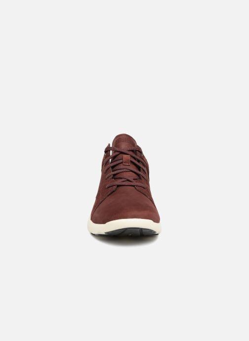 Sneaker Timberland Flyroam rot schuhe getragen