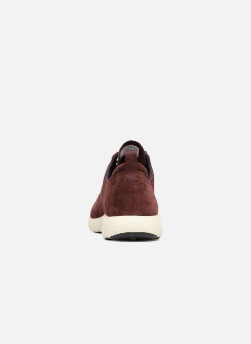 Sneaker Timberland Flyroam rot ansicht von rechts