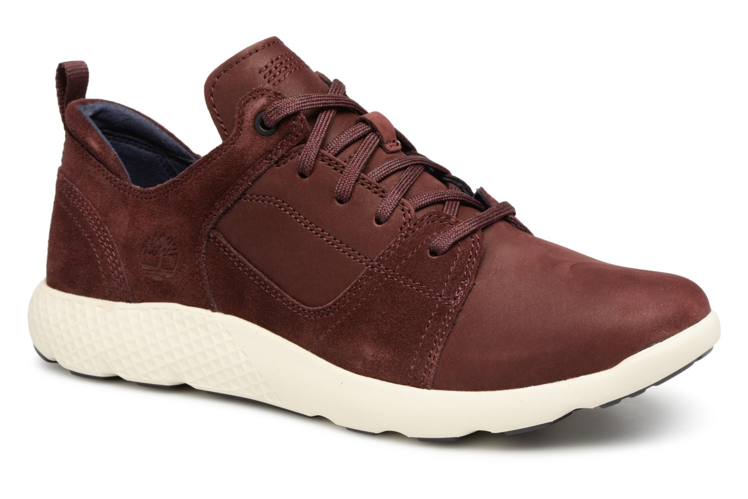 Baskets Timberland Flyroam Rouge vue détail/paire