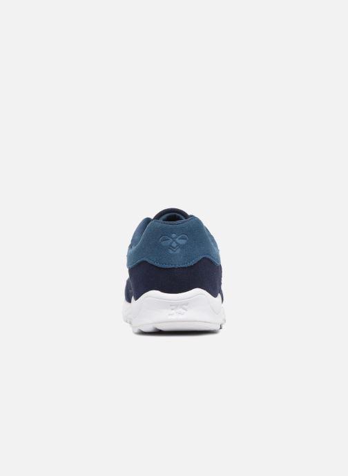 Baskets Hummel 3-S SUEDE Bleu vue droite