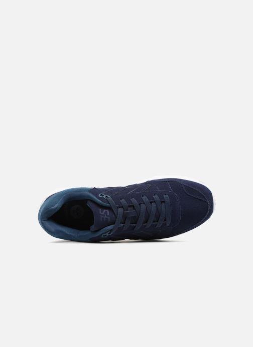Baskets Hummel 3-S SUEDE Bleu vue gauche