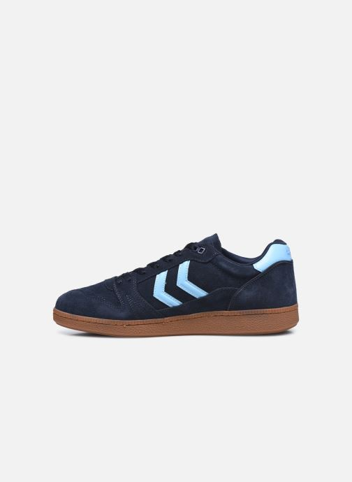 Sneakers Hummel HB TEAM SUEDE Azzurro immagine frontale