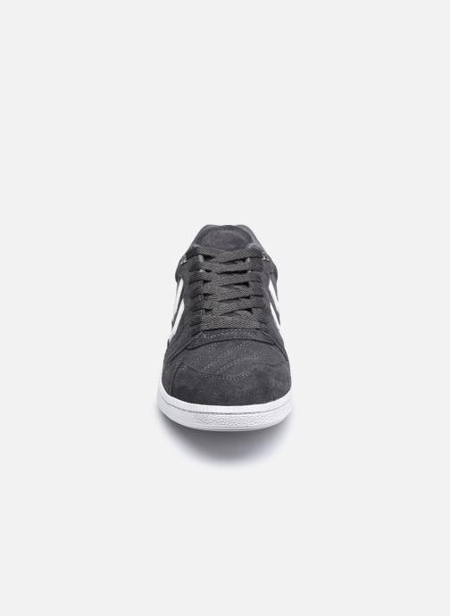 Sneaker Hummel HB TEAM SUEDE grau schuhe getragen