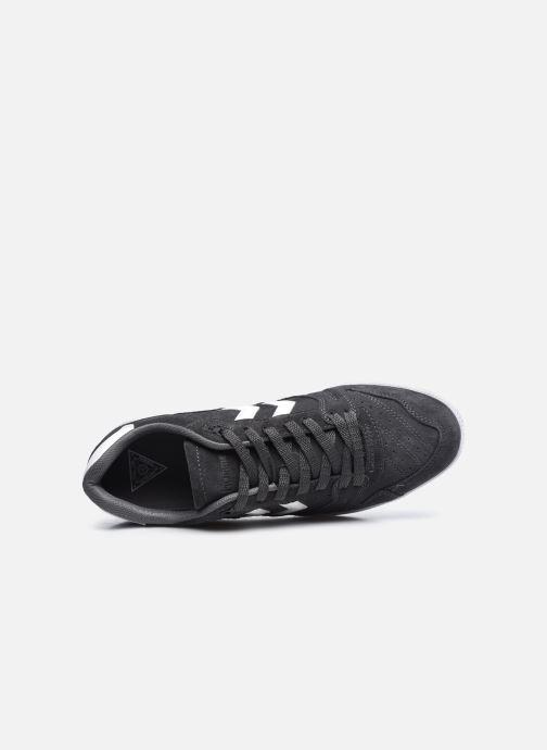 Sneaker Hummel HB TEAM SUEDE grau ansicht von links